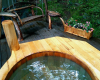 Vermont Tree Cabin Hot tub