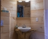 Vermont Tree Cabin - Tree House Interior Bathroom