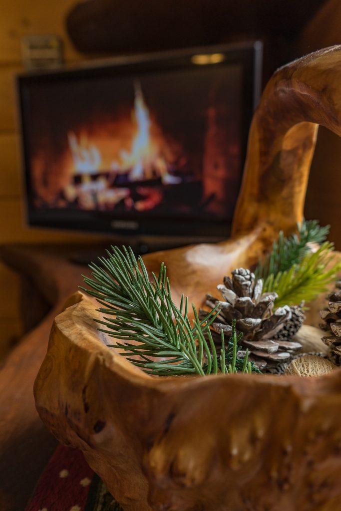 Vermont Tree Cabin - Inside