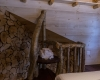 Treehouse bedroom facing the stairs